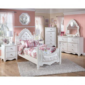 Lovely Exquisite Poster Bedroom Set