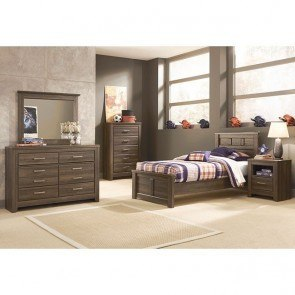 Jessica Silver Youth Bedroom Set Standard Furniture 1