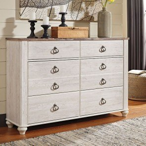 Dressers, Bedroom Furniture With Two-Tone Color Color Group ...