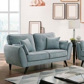 Milari Linen Loveseat Signature Design Furniture Cart