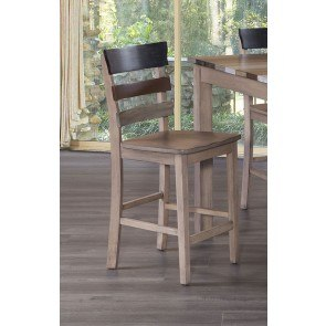 Omaha Counter Height Dining Table Grey Standard