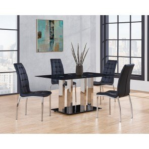 Hamlyn Pedestal Dining Room Set Signature Design By Ashley