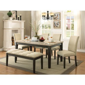 Barbados Counter Height Dining Room Set W Honey Oak Table