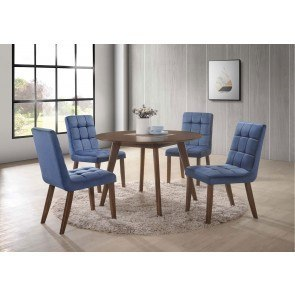 Lacey Counter Height Dining Room Set With Double Stools
