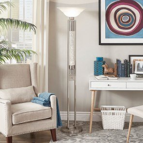 Palla Floor Lamp Uttermost Furniture Cart