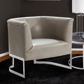 Orson Purple Medallion Accent Chair Homelegance