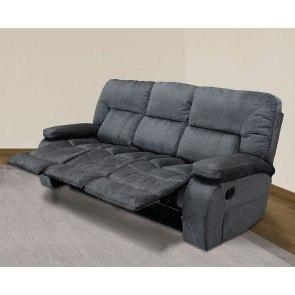 Rourke Nutmeg Reclining Sofa Signature Design