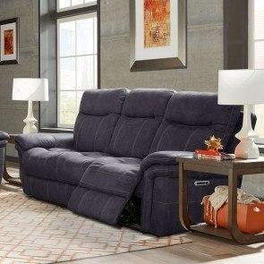 Oberson Gunsmoke Reclining Sofa Signature Design 3