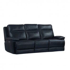 Voyager Power Lay Flat Triple Reclining Sofa Slate
