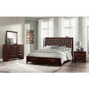Proximity Urban Sleigh Metal Bedroom Set Universal