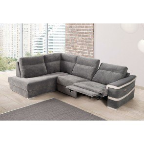 Grenada Mocha Right Chaise Small Sectional Signature