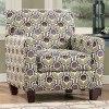 Danielle - Eggplant Accent Chair