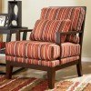 Darby - Spice Showood Accent Chair