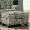 Crawford - Chocolate Accent Ottoman
