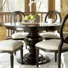 Summer Hill Round Dining Table (Midnight)