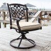 Burnella Outdoor Swivel Chair (Set of 2)