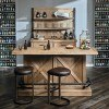 Furniture City Brewing Blonde House Bar Set w/ IPA Stools