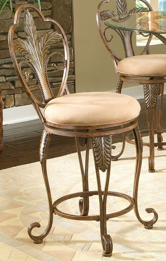 Pina Colada Swivel Counter Stool Largo Furniture