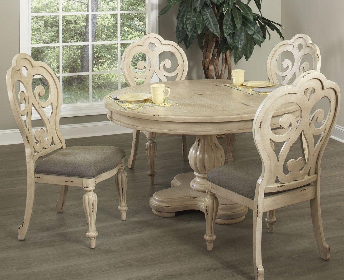 Devonshire round dining room set