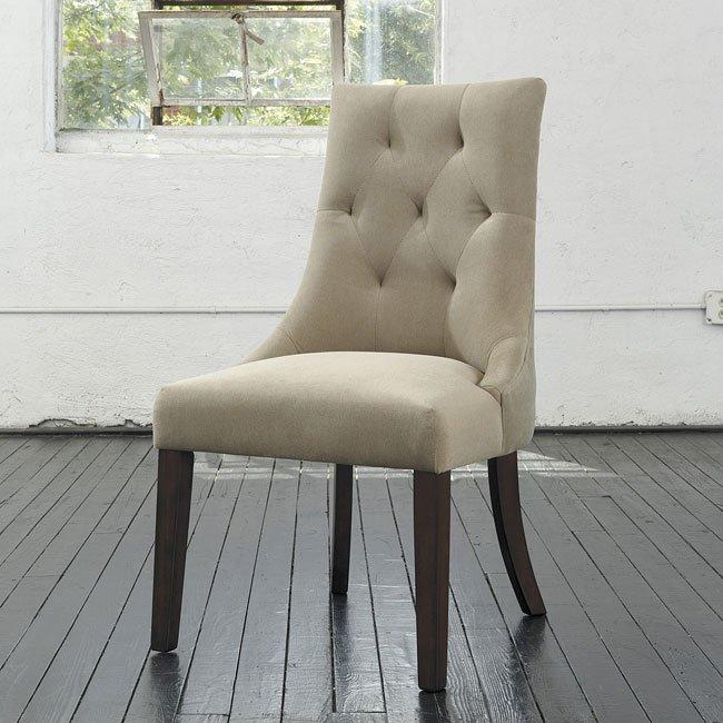 Magnificent Mestler Upholstered Side Chair Set Of 2 Home Interior And Landscaping Dextoversignezvosmurscom