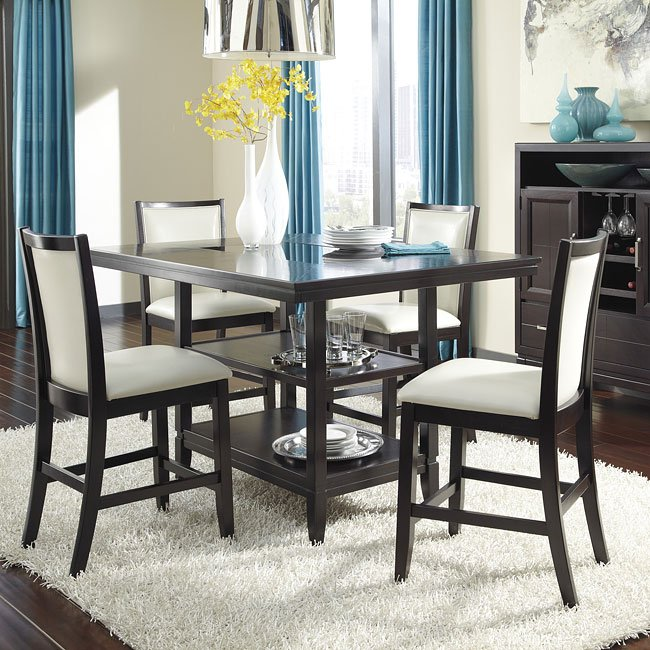 Trishelle Counter Height Dining Room Set Signature Design ...