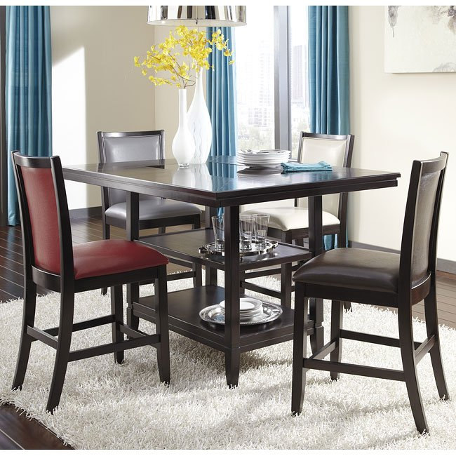 Counter Dining Room Sets: Trishelle Counter Height Dining Room Set Signature Design