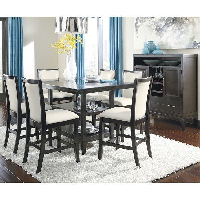 Trishelle Counter Height Dining Room Set