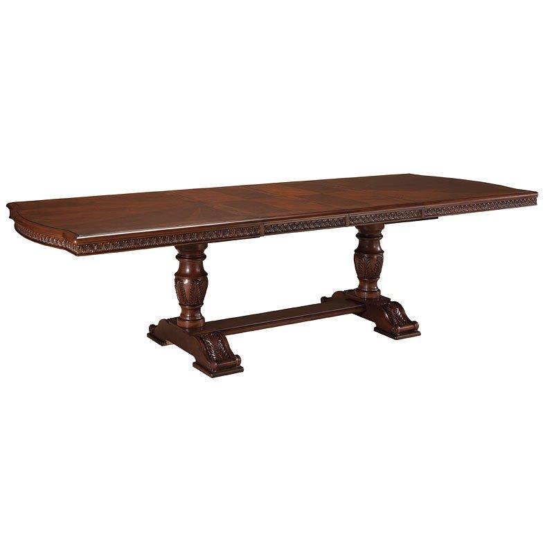 North Shore Double Pedestal Table