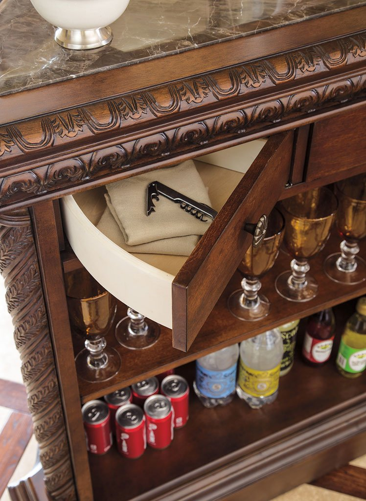 North Shore Home Bar Set Millennium 3 Reviews Furniture