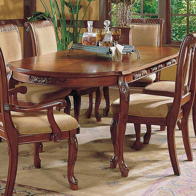 Cherry Dining Room Furniture: Harmony Dining Room Set (Cherry) Steve Silver Furniture