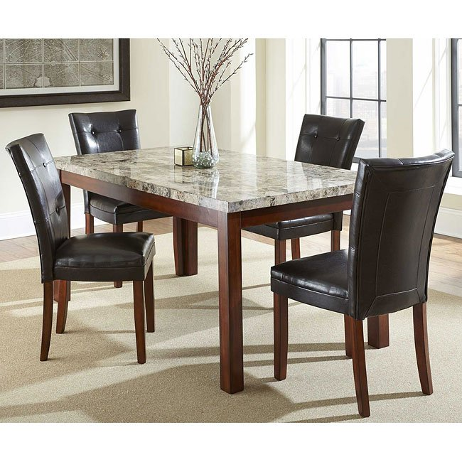 Montibello Dining Room Set W 64 Inch Table Steve Silver