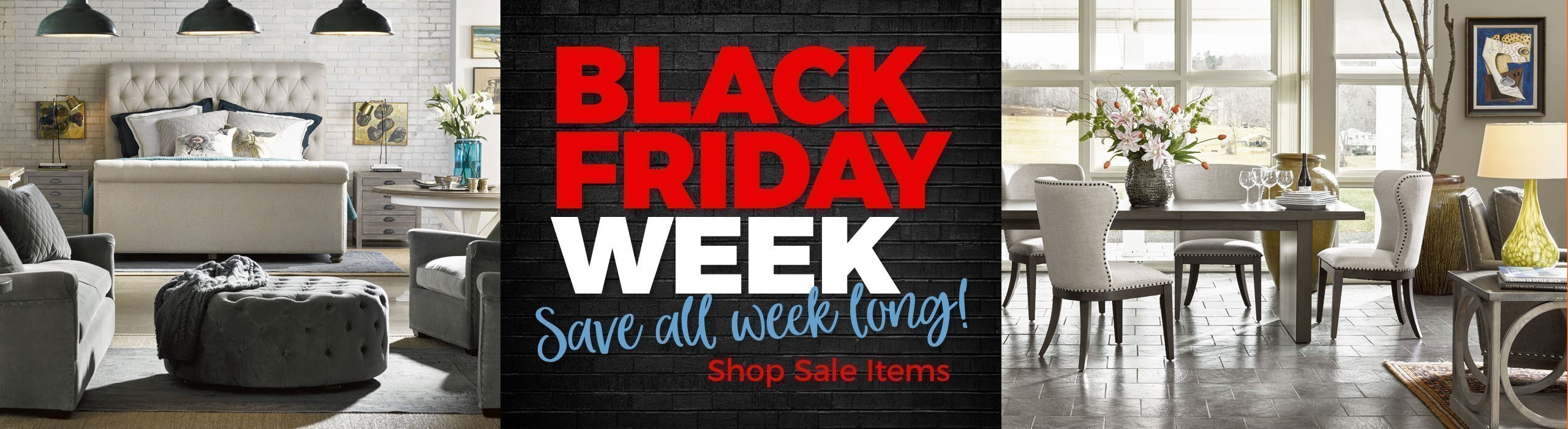 Black Friday Week Furniture Sales