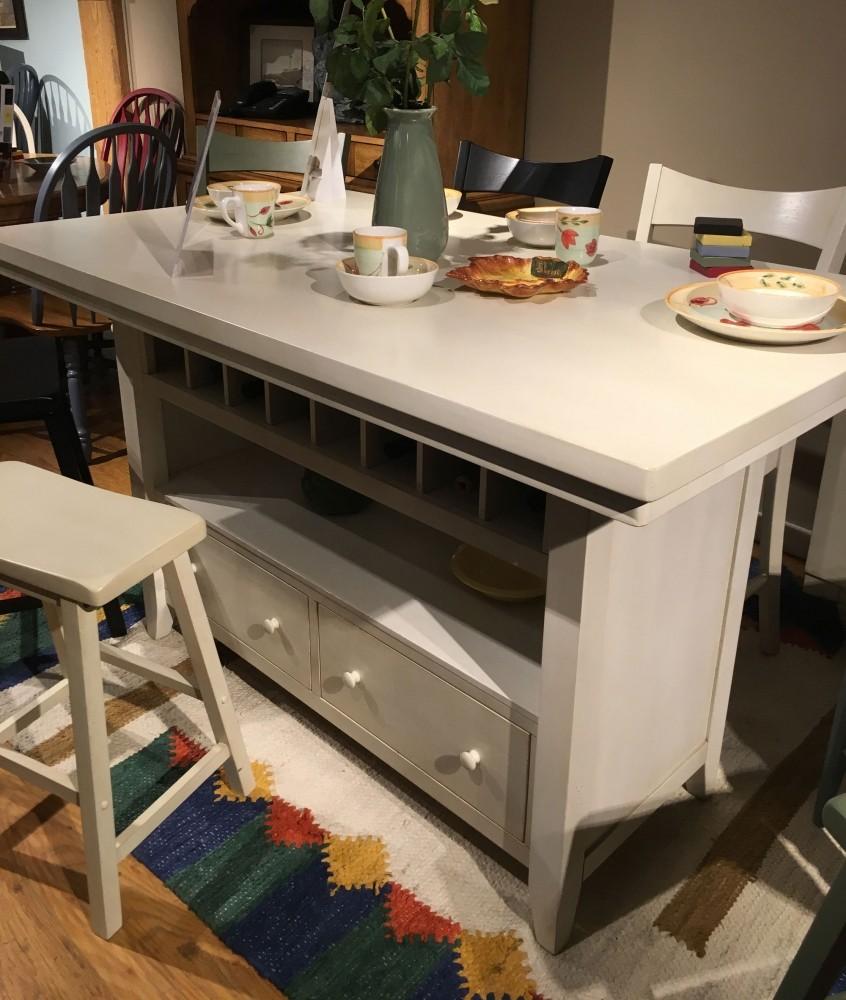 terrific antique white kitchen island   Antique White Island ECI Furniture, 4 Reviews   Furniture Cart